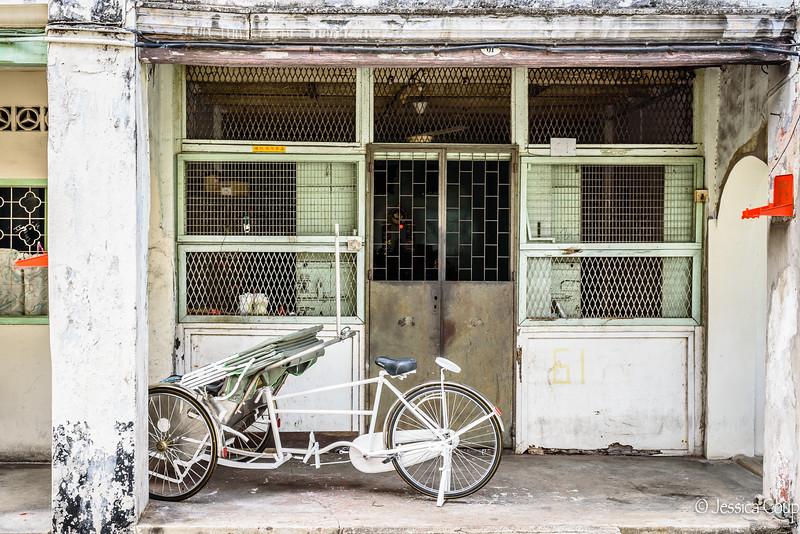Abandoned Trishaw