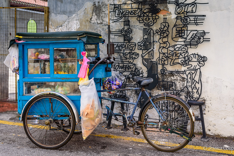 Hawker Bike and Street Art