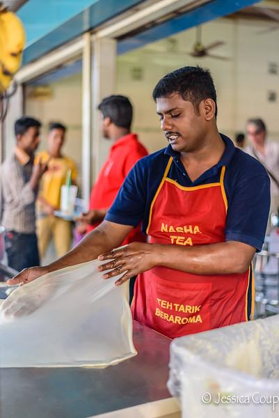 Making Indian Roti