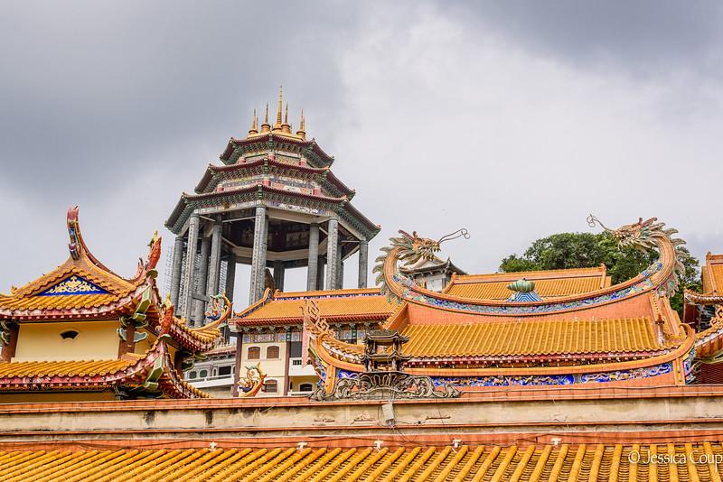 Roof Tops at Kek Lok Si