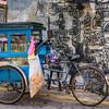Hawker Bike and Street Art