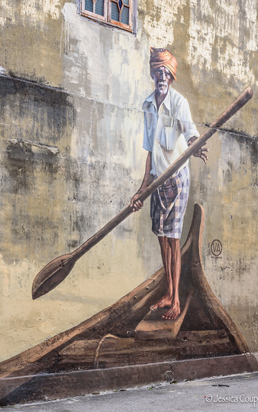 The Indian Boatman