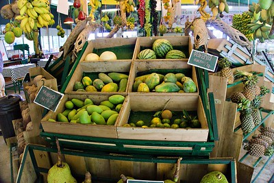 Fruits in Tropical Fruit Farm Penang