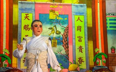 Cinese opera actor
