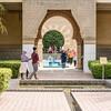 Moroccan Pavilion Entrance