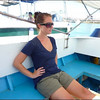 On the speedboat to Sipadan