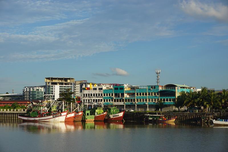 River Kuching Boats