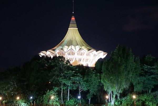 Evening in Kuching
