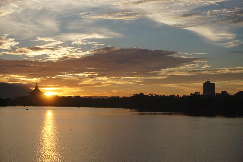 Sunset in Kuching