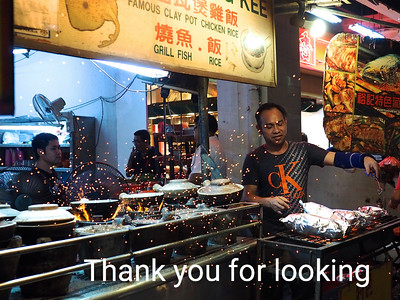 Cooking at the Night Market