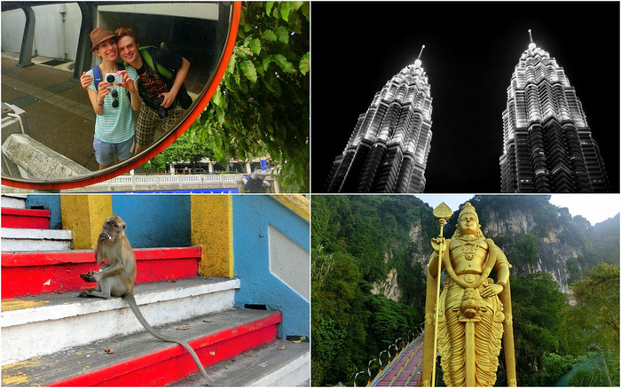 Visiting the top attractions in Kuala Lumpur, KL.
