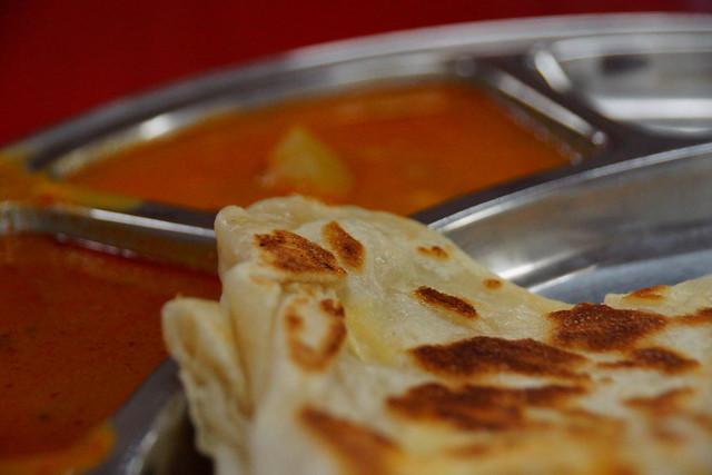 Roti canai at Restoran Anuja
