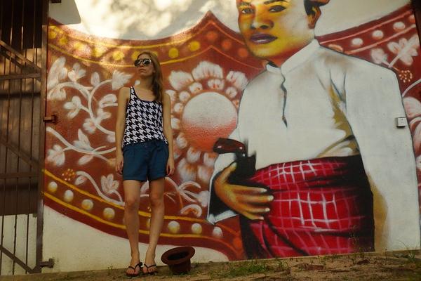 Audrey-street-art-in-Melaka
