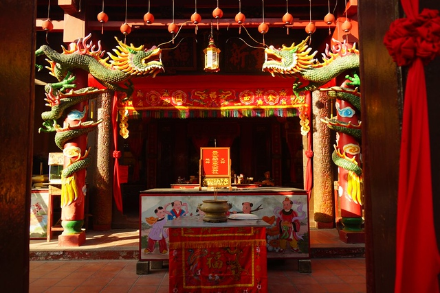 Temple in Melaka's Chinatown