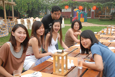 Left to Right: Sigrid, Joy, Wang Rui, BK Siew, Zhou Ling, Nancy