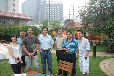 "Left to Right: Siu Lian, ""Robinhood"", Jerry, Chiang, Koh, Lim & Will"