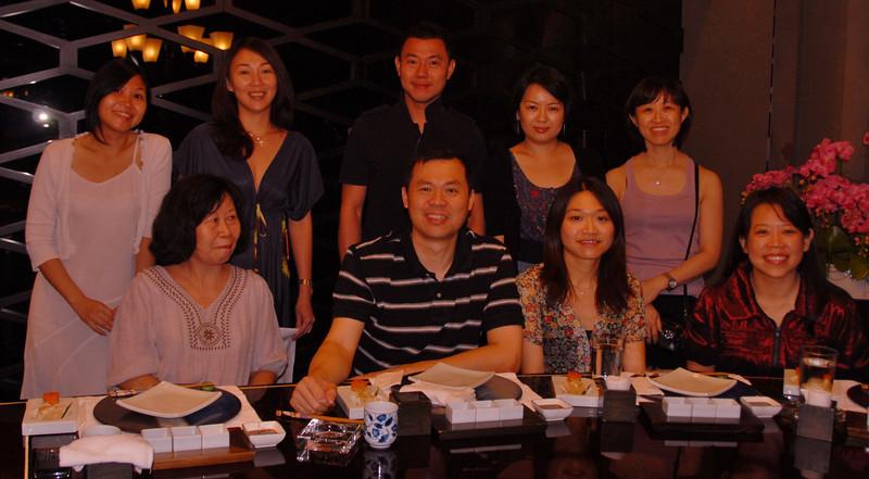Left to Right: Yih See, Sigrid, Robin, Rachel, Siu Lian Front: Jessie, Soo, Eong Hwee, Fui Chu