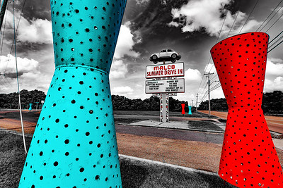 Malco Summer Drive In Sign