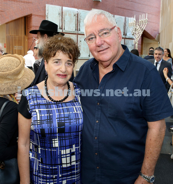 Malcolm Turnbull at Central Shule. Yaffa & Harry Taibel. Pic Noel Kessel.