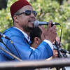 Malden, Ma. 9-17-17. Abdou Adm singing Noor for Spiritual Music at the second annual Malden-Muslim festival.