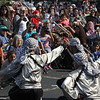 Malden, Ma. 9-17-17. The Freedom Dabka Group performing at the second annual Malden Muslim festival.