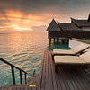 Maldive sunrise