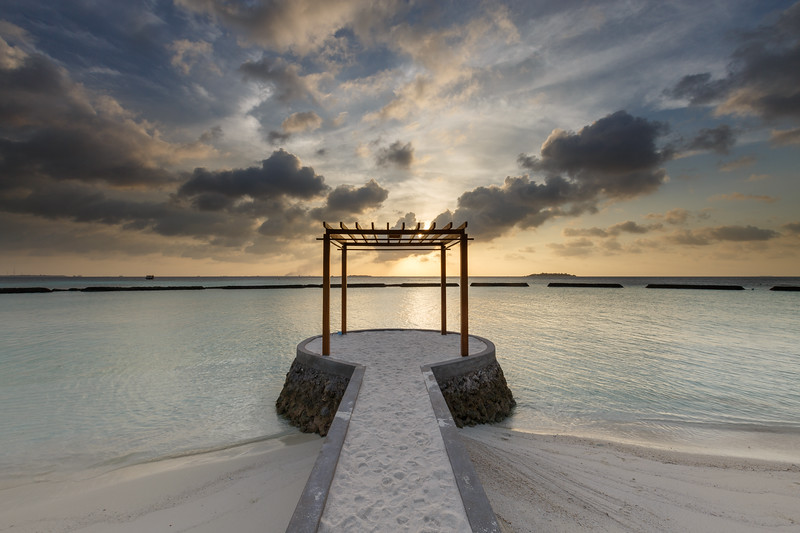 Maldive sunset