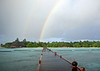 Rain, island and the rainbow