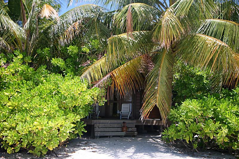 Typical beach villa