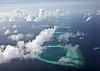 Maldivian atolls - Aerial view