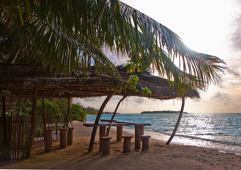 Old bar, Sun Island, Maldives
