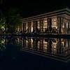 Reflection of Alba Restaurant at St. Regis Maldives.