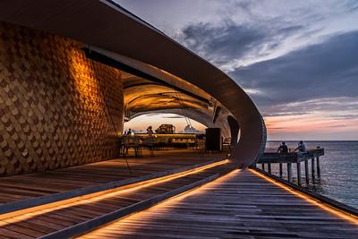 The Whale Bar at St. Regis Maldives.