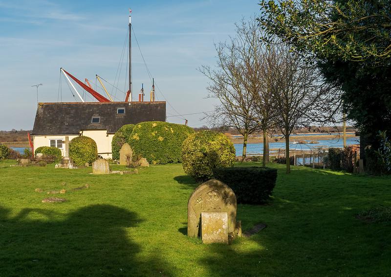 Maldon Church Yard View