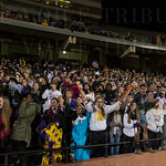 A large contingent of Male fans were on hand to cheer the Bulldogs to their first state championship since 2000.