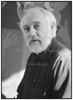 Kunstneren Bent Karl Jacobsen i sit atelier/hjem 1988
