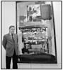 Claus Bøjesen holder udstilling med diverse kunstnere i Kunsthallen i Købmagergade 1995