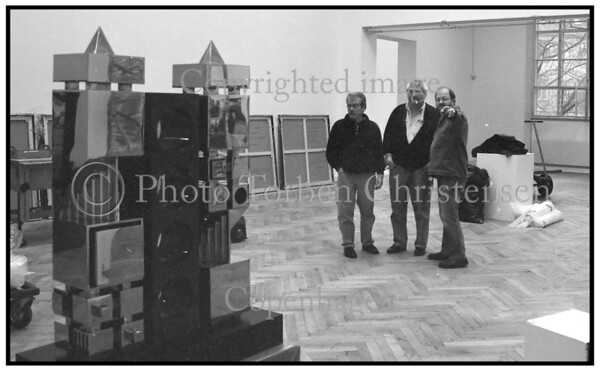 Poul Agger og Bent Karl Jacobsen på Grønninngen 1993