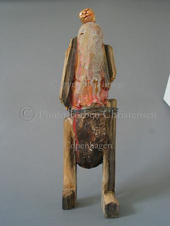 Diverse leif Sylvester skulpturer 2003.  Foto: Torben Christensen  København ©