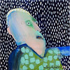 Leif Sylvester malerier 2004.  Foto: Torben Christensen  København ©