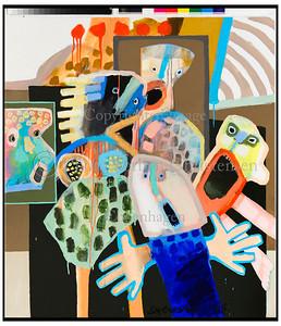 Leif Sylvester malerier 2008