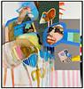 Leif Sylvester malerier Oktober 2008.  Foto: Torben Christensen  København ©