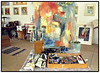 Lone Lindorphs Atelier på frederiksberg 1998