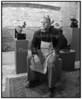 Raimo Veranenn finsk kunstner i sit atelier 1994