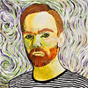 Rasmus Malerier 2008.  Foto: Torben Christensen  København ©