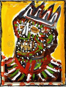 Sonny Asemota malerier 1998