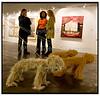 Kunstmesse ART Copenhagen åbnede fredag sep.15.2005 i Forum i København. På udstillingen viser 54 udvalgte gallerier kunst af 450 anerkendte skandinaviske kunstnere. For første gang er også gallerier fra Norge og Sverige med på messen, der er et slaraffenland for alle der elsker at lade sig fange ind af kunstens verden for at nyde, udfordres og provokeres. Foto: Torben Christensen  København ©  Ayoe Bryndis