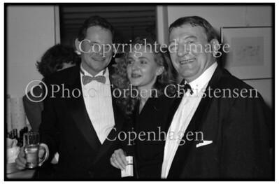 Wilhelm Freddie 80 år fødselsdag hos Asbæk 1988