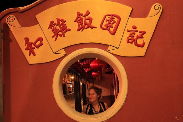 Melaka nocÄ… - chinatown