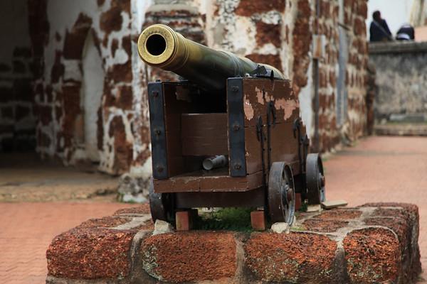 Pozostałości fortu portugalskiego